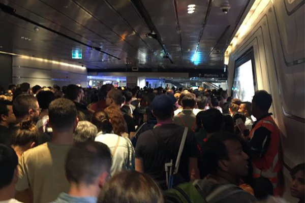 Article image for Sydney Trains 'will consider' compensating some revellers after NYE rail chaos