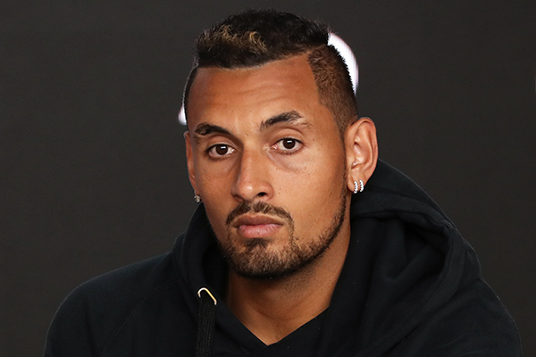 Article image for Nick Kyrgios responds to claims of a rift with Lleyton Hewitt