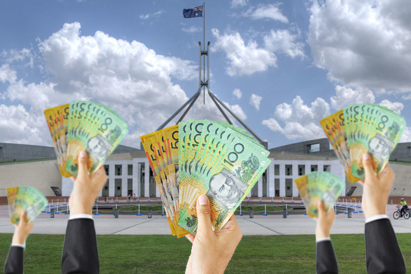 Article image for Scott Morrison planning Rudd-style cash handout to win votes