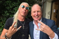 'A piece of garbage': Twisted Sister frontman slams Clive Palmer for using his song
