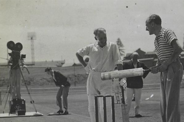 Article image for Don Bradman's long lost film cameo found after 83 years