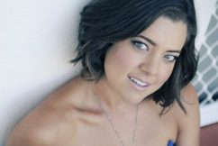 Country music star Amber Lawrence