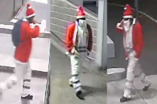 Article image for Police on the hunt for 'Bad Santa'