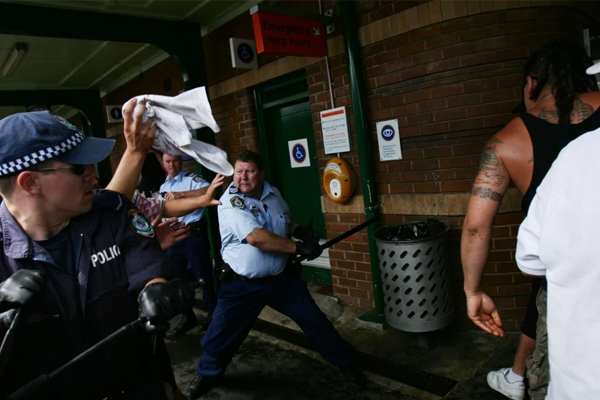 Article image for Heroic Cronulla riots cop has never received his bravery award