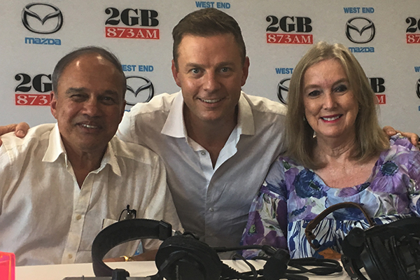 Article image for 'You never gave up on us': How Ben Fordham gave this family their life back