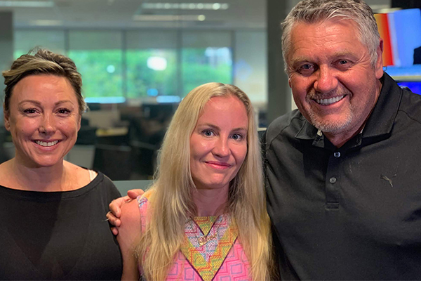 Article image for 'You're a hero': MND sufferer shares her emotional battle with Ray Hadley