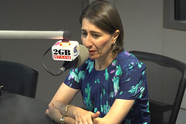 Article image for 'Please talk to me': Gladys Berejiklian still out of the loop for QLD's border decisions