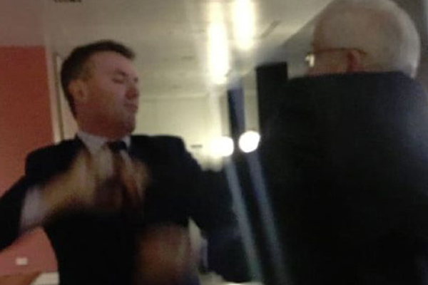 Article image for 'What the hell is going on?' Canberra in shambles after parliament punch-up