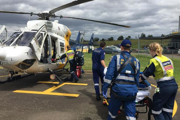 Article image for Woman seriously burned while refuelling car at Eastern Creek