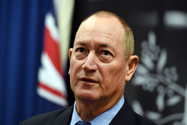 Article image for Senator Anning a 'disgrace to the parliament'