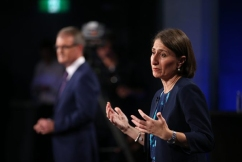 'I'll let others talk about that': Premier refusing to focus on victory in leaders' debate