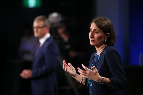 Article image for 'I'll let others talk about that': Premier refusing to focus on victory in leaders' debate