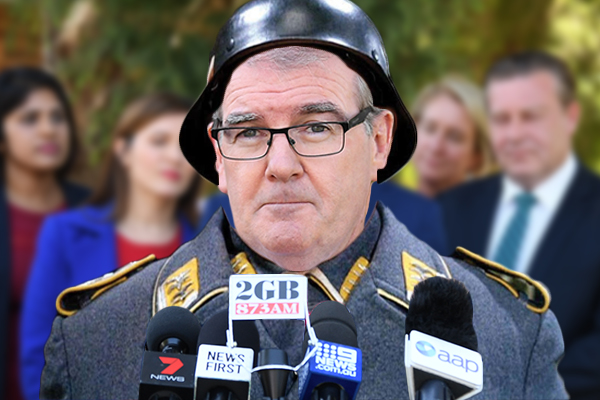Article image for 'He's the Sergeant Schultz of NSW politics': Treasurer calls Michael Daley a liar