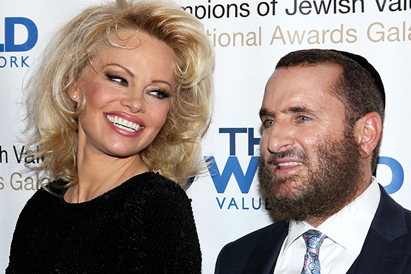 Article image for Keeping the lust alive: Pamela Anderson and an American Rabbi join forces on sex