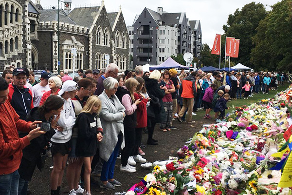 Article image for Christchurch latest: Survivors demand answers as gun shops prepare for a rush