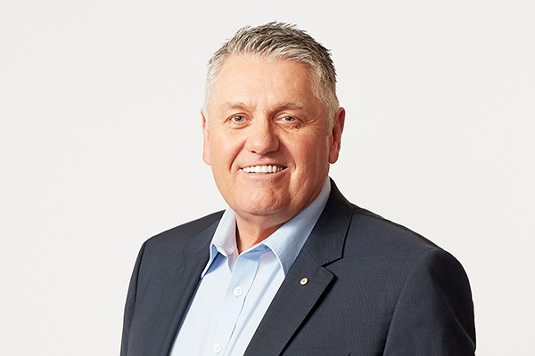 Article image for 'It's a rotten sort of thing… and there's no cure': Ray Hadley in hospital