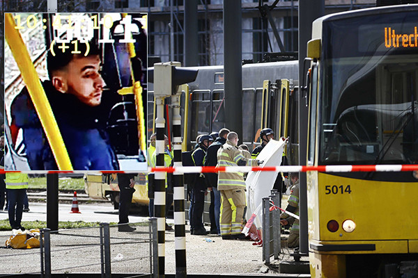 Article image for Three killed, several injured in suspected Dutch tram terror attack