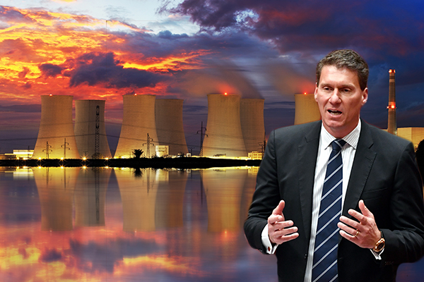 Article image for Cory Bernardi says PM got his 'hopes up' on nuclear power
