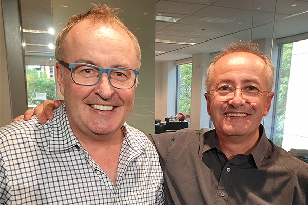 Article image for Andrew Denton reveals the importance of his famous blue chairs