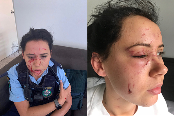 Article image for EXCLUSIVE | Man was on parole when he violently attacked female police officer