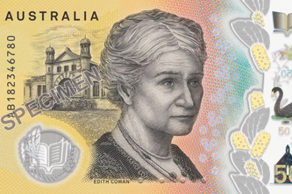 Article image for Embarrassing typo on new $50 note