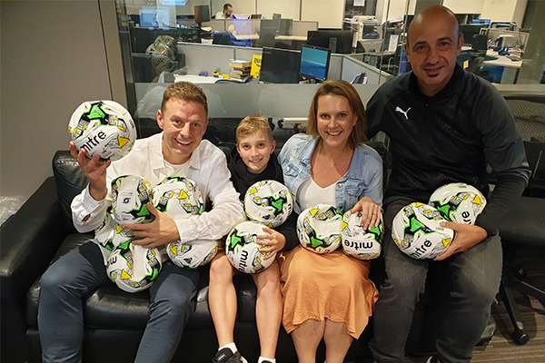 Article image for WATCH | Ben Fordham surprises 8-year-old with incredible gift