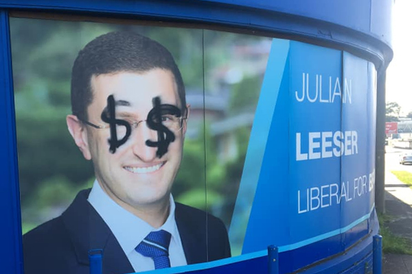 Article image for Liberal MP the latest to be targeted with racial abuse