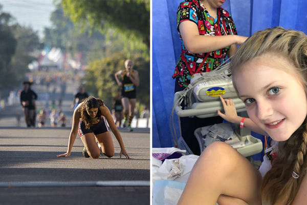 Article image for After 130 surgeries, this 11yo is taking on Sydney's toughest challenge