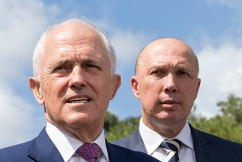 Dignified Dutton's message for Malcolm