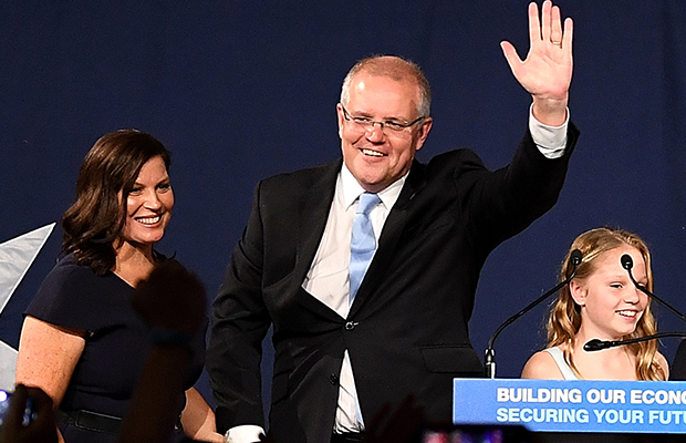 Article image for Morrison's miracle: Coalition claims victory, Shorten resigns