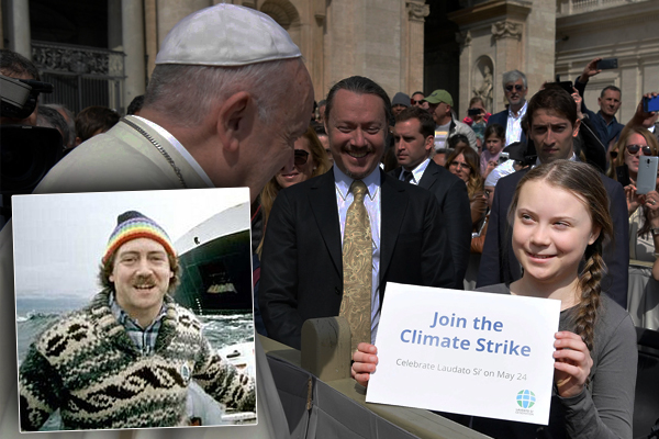 Article image for Former Greenpeace member likens school climate strikes to Hitler Youth