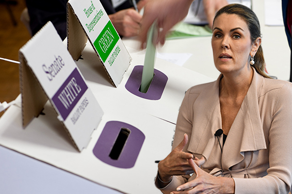 Article image for Peta Credlin says election will be 'a very unusual contest'