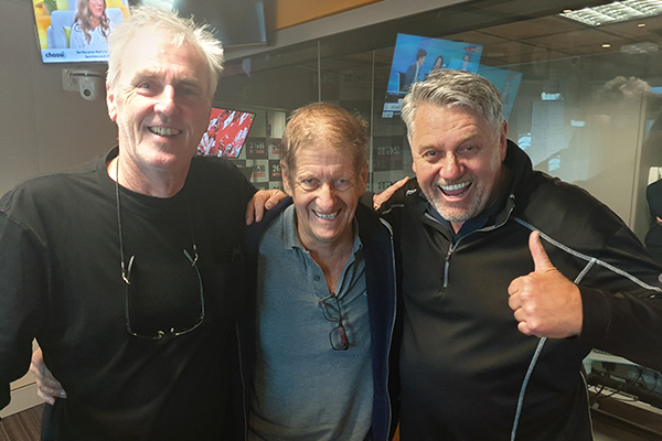 Article image for Roy and H.G. join Ray Hadley ahead of their Macquarie Sports Radio debut