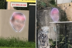 Police on the hunt for two men involved in vile Tony Abbott posters