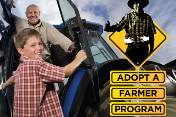 Article image for 'Getting very dire': Adopt a drought-affected farmer