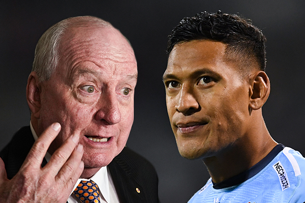 Article image for 'It's monstrous': Alan Jones slams termination of Israel Folau's contract