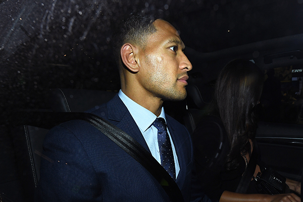 Article image for 'A very authentic person': Former Wallabies captain defends Israel Folau