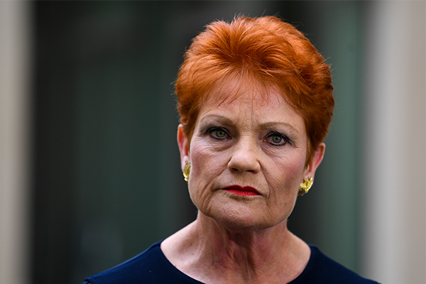Article image for Pauline Hanson says strip club video release was 'a set-up'