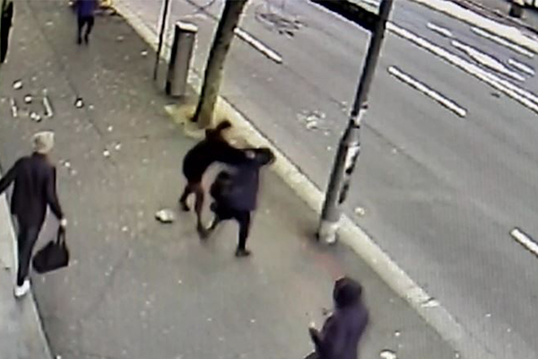 Article image for WATCH | Pregnant woman attacked in 'despicable act'