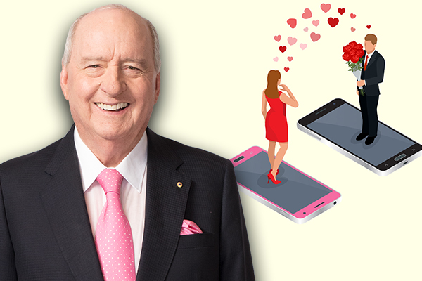 Article image for 'Text me': Alan Jones gets some hilarious dating advice