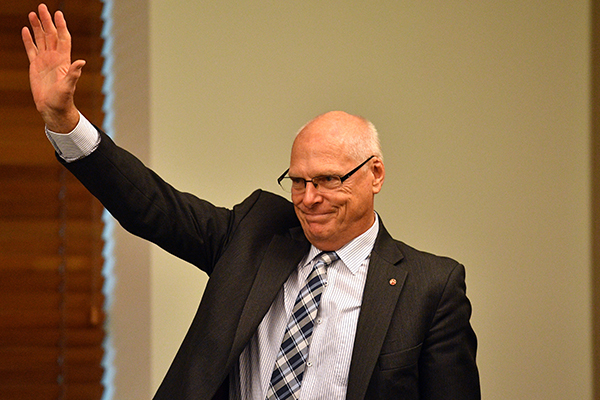 Article image for Jim Molan makes political history