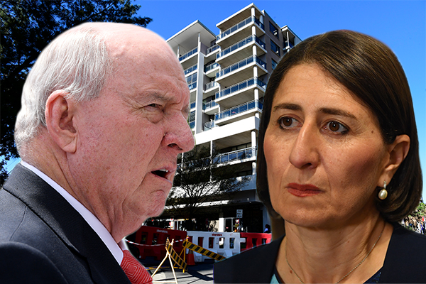 Article image for 'I am absolutely disgusted with you': Alan Jones takes Premier to task