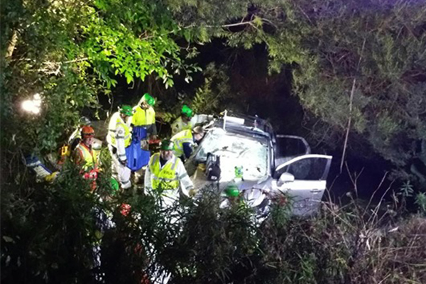 Article image for Woman freed after being trapped in car for 17 hours