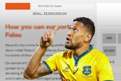 Israel Folau's new fundraising page soars after GoFundMe snub