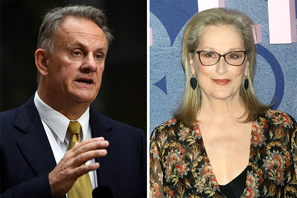 Article image for Mark Latham defends Meryl Streep's 'toxic masculinity' comments