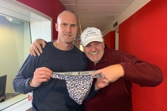 Ray Hadley and Fitzy battle it out in a 'Sexy Off'