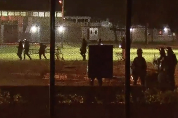 Article image for Bloody riot: Inmates stabbed at juvenile detention centre on the Central Coast