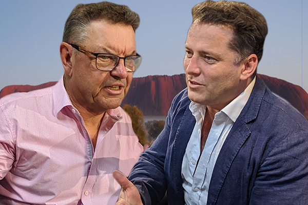 Article image for Karl Stefanovic calls out Steve Price for 'racist' Uluru comments