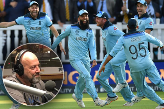 Article image for 'It's crap!': Darren Lehmann slams World Cup final result