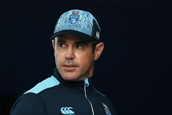 Article image for 'Just trying to create trouble': Brad Fittler responds to national anthem debate